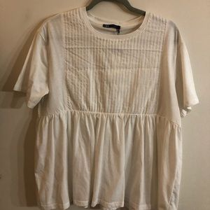 NEW WITH TAGS! WHITE ZARA TOP!